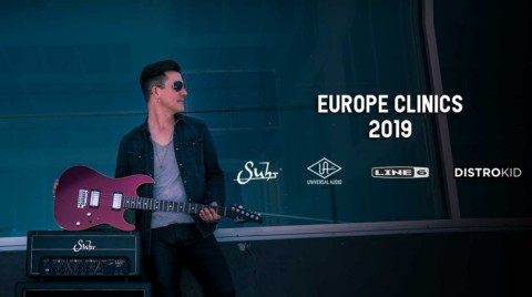 Pete Thorn Europe Clinics 2019
