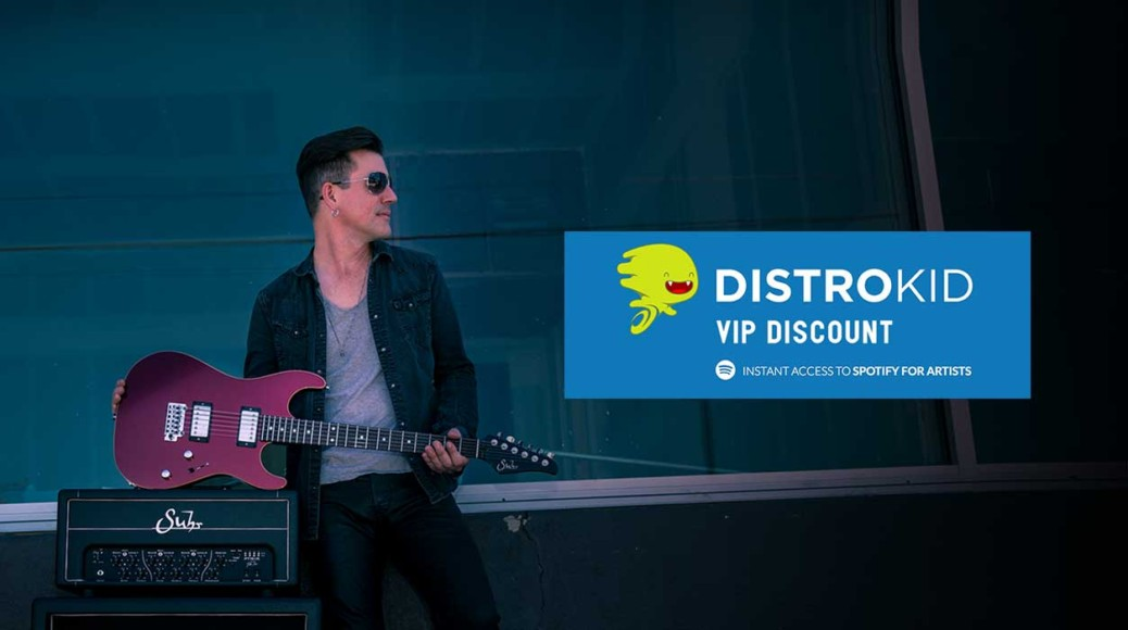 Pete Thorn - Distrokid VIP Discount